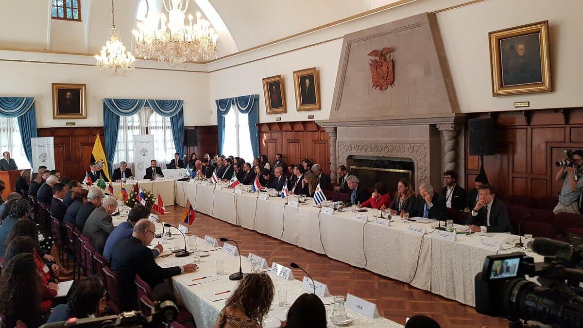 Chile adopta la Declaración de Quito en beneficencia de migrantes Venezolanos